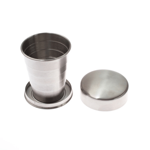 Izola Collapsible Travel Cup - Camping: Tools - Iron and Resin