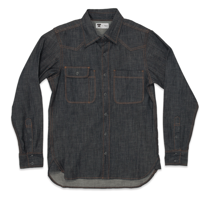 Tellason Topper Denim Shirt - Apparel: Men's: Wovens - Iron and Resin