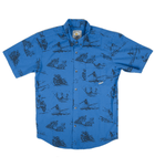 INR x Bruce Brown Film Icons Short Sleeve Shirt - Apparel: Men's: Wovens - Iron and Resin