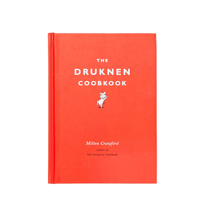 The Drunken Cookbook - Accessories: Books - Iron and Resin