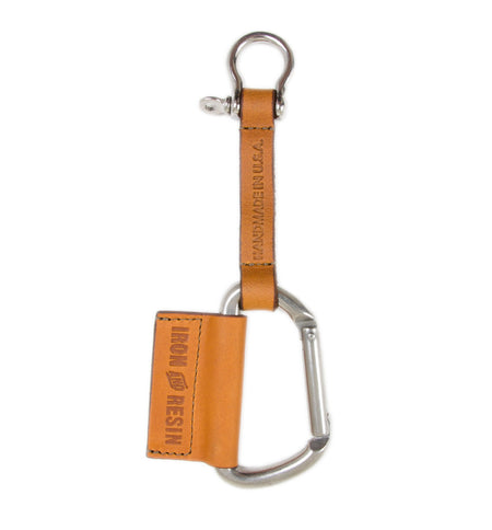Leather Key Lanyard - Carry Essentials - Iron and Resin