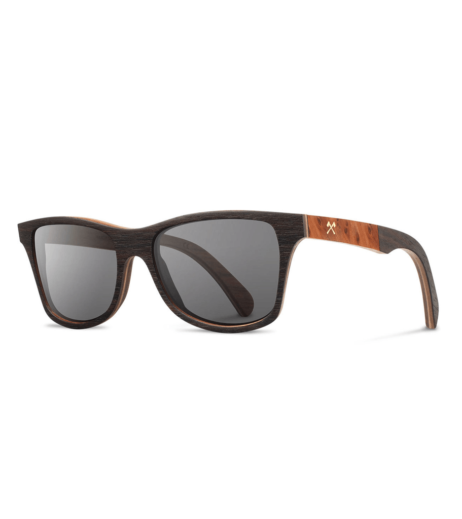 Shwood Canby- Ebony // Redwood - Accessories: Eyewear - Iron and Resin