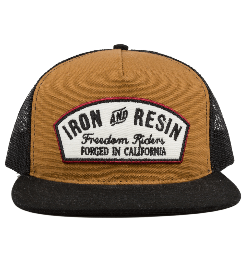 Federal Hat - Accessories: Headwear: Men's - Iron and Resin