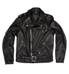 Schott Waxy Cowhide Motorcycle Jacket - Apparel: Men's: Outerwear - Iron and Resin