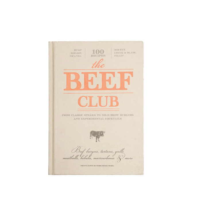 The Beef Club - Accessories: Books - Iron and Resin