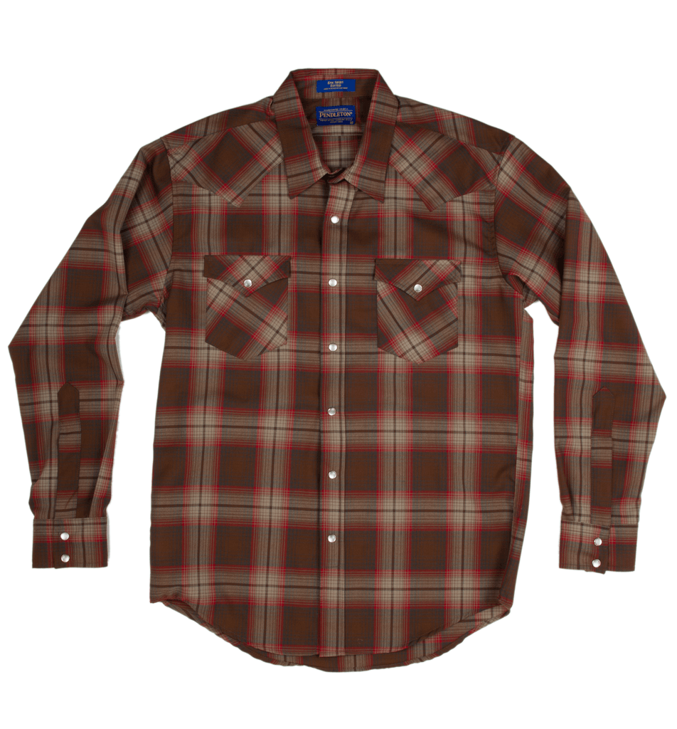 Pendleton Fitted Epic Shirt - Apparel: Men's: Wovens - Iron and Resin