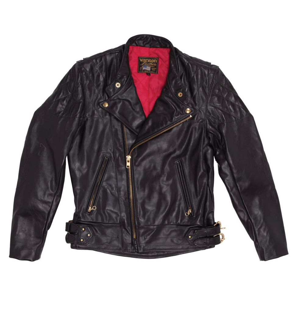 Vanson Leathers Chopper Jacket - Outerwear - Iron and Resin