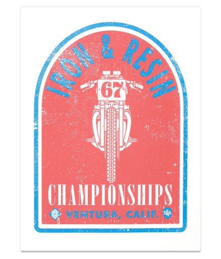 CHAMPION POSTER - Art/Prints - Iron and Resin