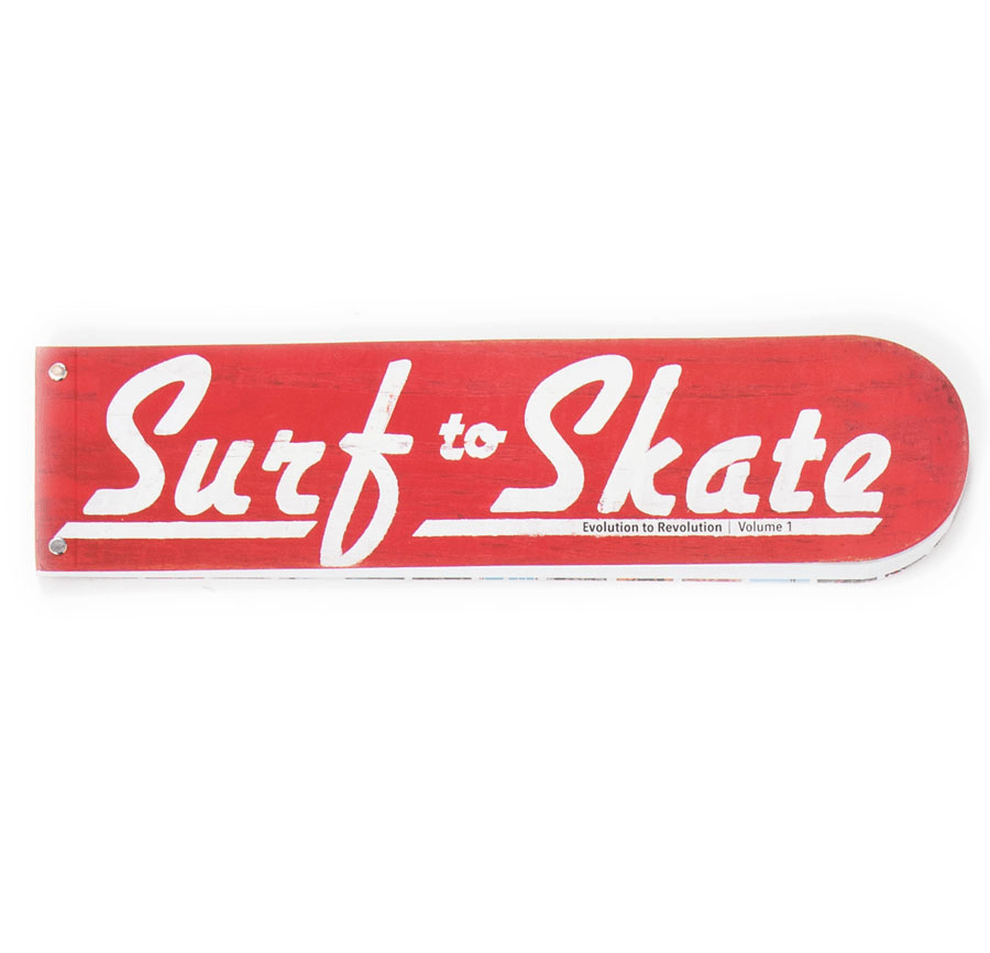 Surf to SKate Book - Accessories: Books - Iron and Resin