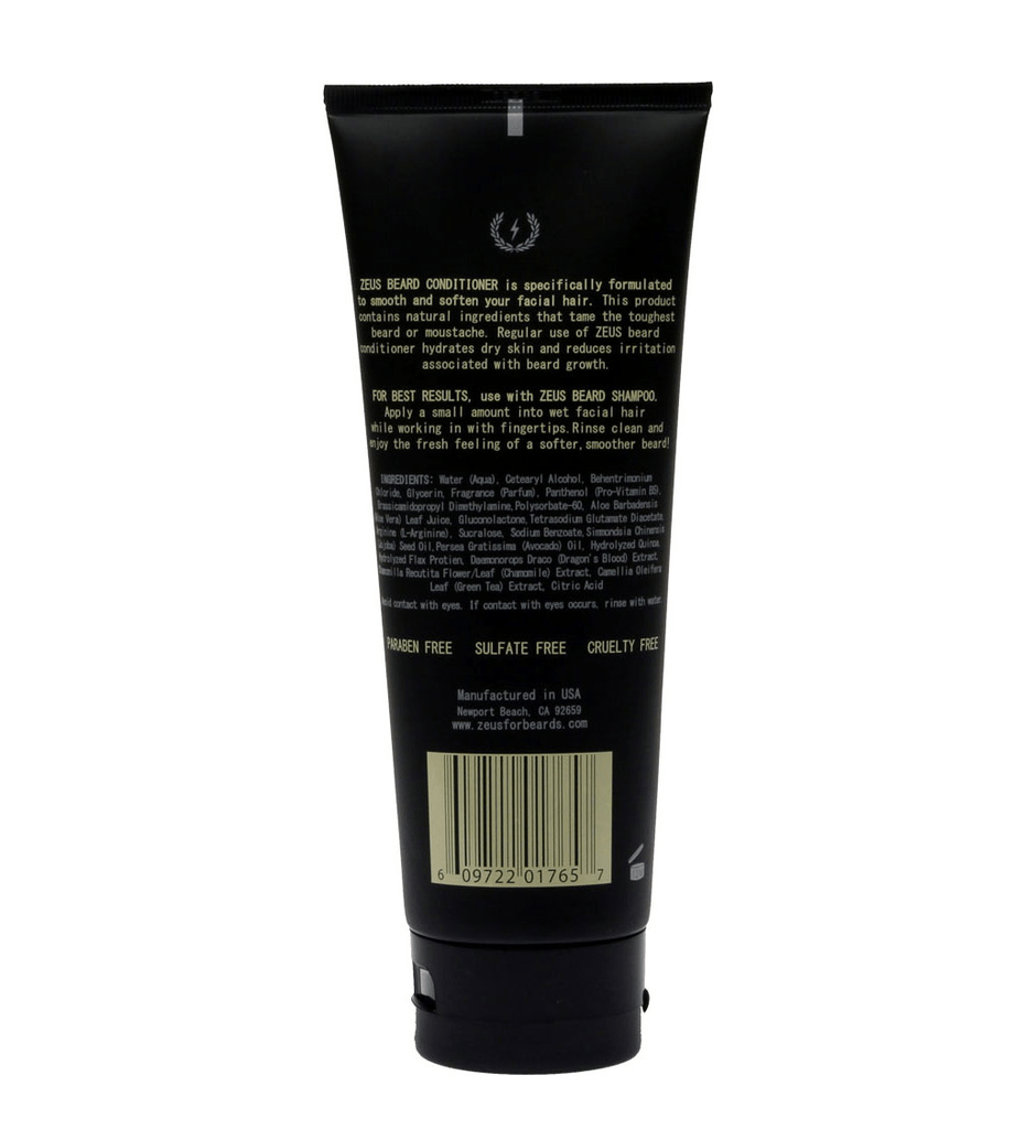 Zeus Beard Conditioner - Grooming - Iron and Resin