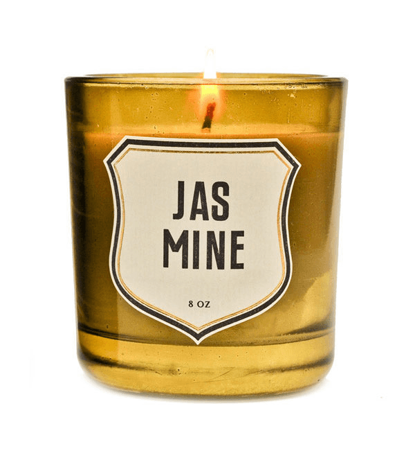 Izola Jasmine Candle - Houseware: Candles - Iron and Resin