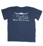 Midnight Rider Nudie's Western Men's Crew - Apparel: Men's: T-Shirts - Iron and Resin