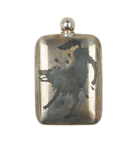 The Hell Hound Noble Flask