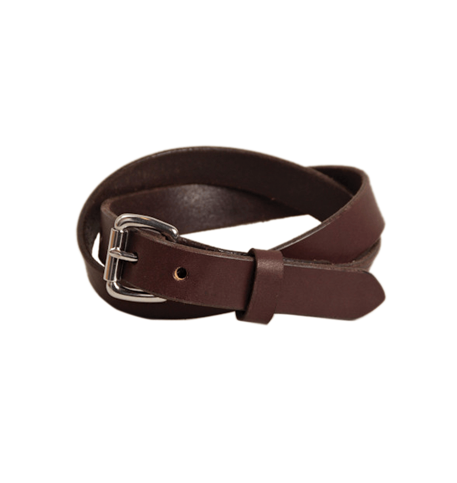 Tanner Goods - Skinny Belt - Accessories: Belts: Men's - Iron and Resin