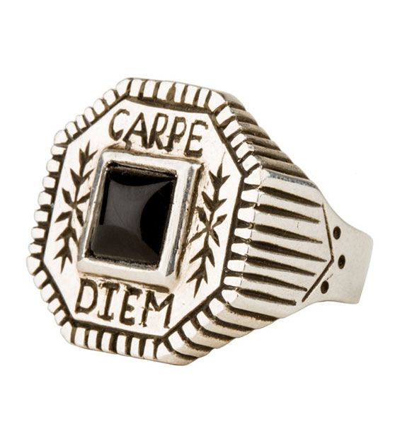 LHN Carpe Diem Ring - Jewelry - Iron and Resin