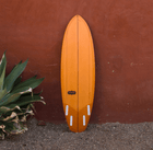 Almond Surfboards - 5'10 Quadkumber - Surf: Boards - Iron and Resin