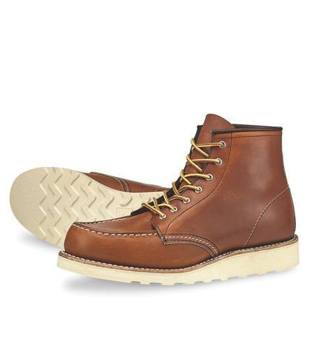 Red Wing Women's 6-Inch Moc - Boots - Iron and Resin
