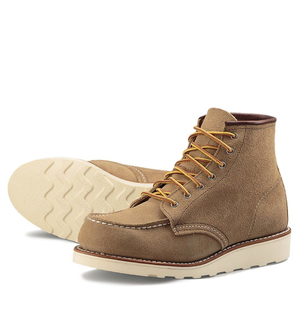 Red Wing Bevel Moc Wedge Sand, 3376 - Boots - Iron and Resin