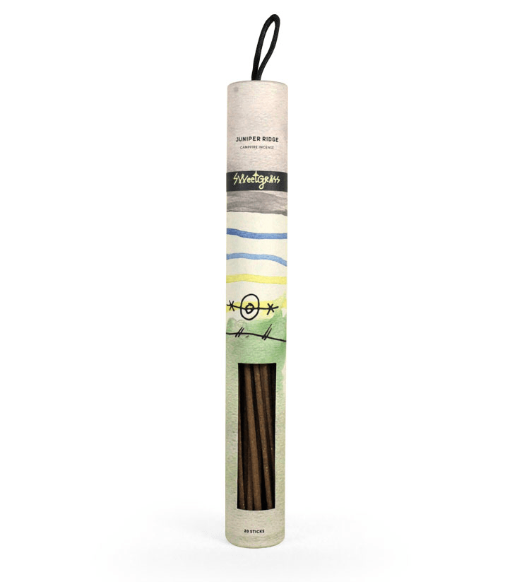 Juniper Ridge Campfire Incense - Sweetgrass - Home Essentials - Iron and Resin