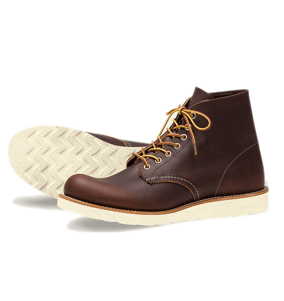 Red Wing 6-Inch Round - Boots - Iron and Resin