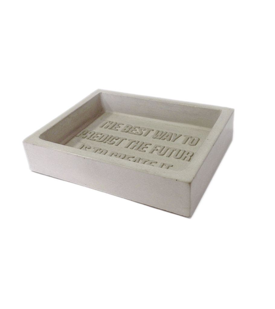 Owen & Fred Concrete Soap Dish - Grooming - Iron and Resin