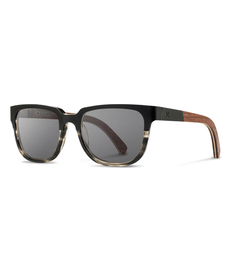Shwood Prescott- Black Titanium - Accessories: Eyewear - Iron and Resin