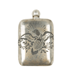 The War Eagle Noble Flask - Houseware: Flasks - Iron and Resin