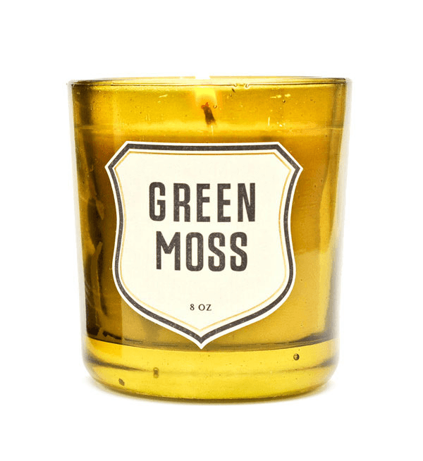 Izola Green Moss Candle - Home Essentials - Iron and Resin