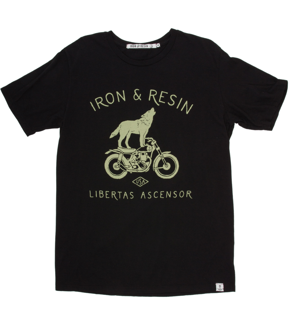 Howling T-Shirt - Apparel: Men's: T-Shirts - Iron and Resin