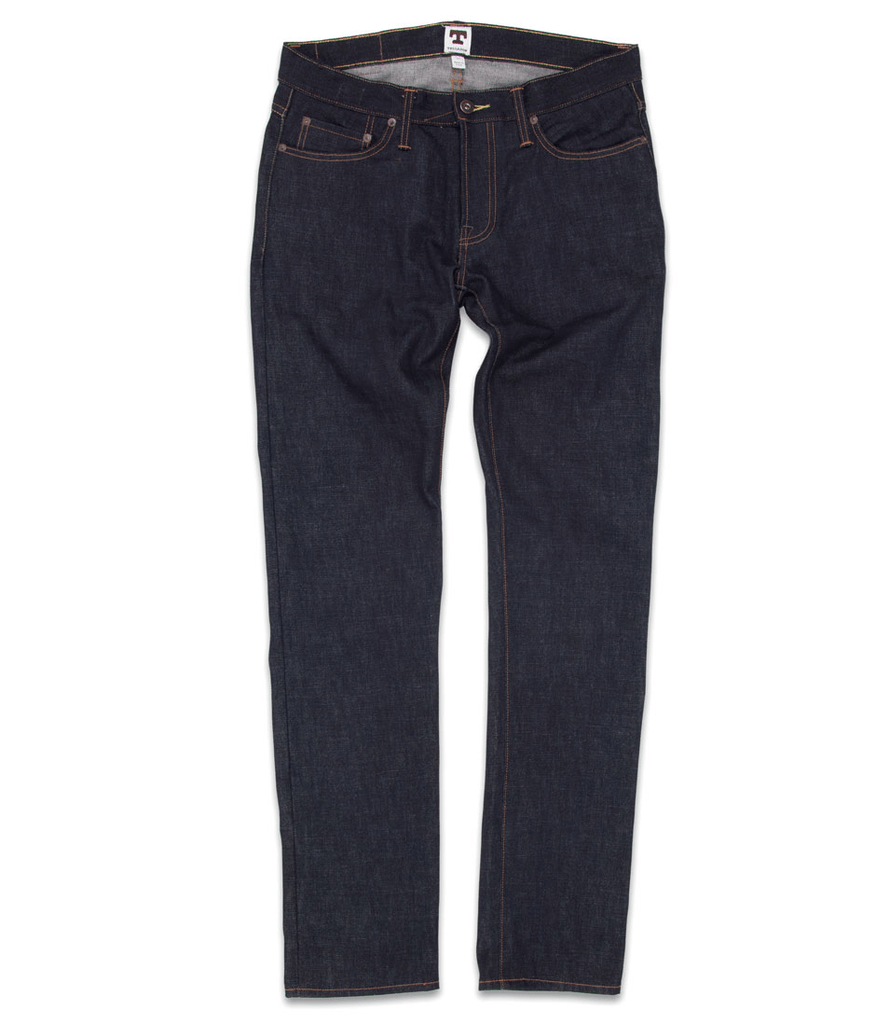 TELLASON LADBROKE SLIM TAPERED 14.5oz. - Apparel: Men's: Pants - Iron and Resin