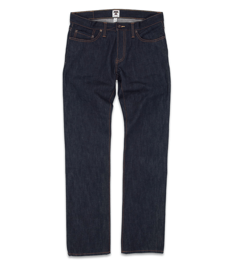 Tellason Graham Mellor Slim Straight 14.75oz Jean - Bottoms - Iron and Resin