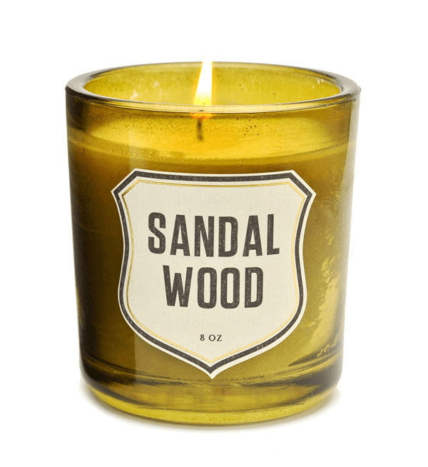 Izola Sandalwood Candle - Houseware: Candles - Iron and Resin