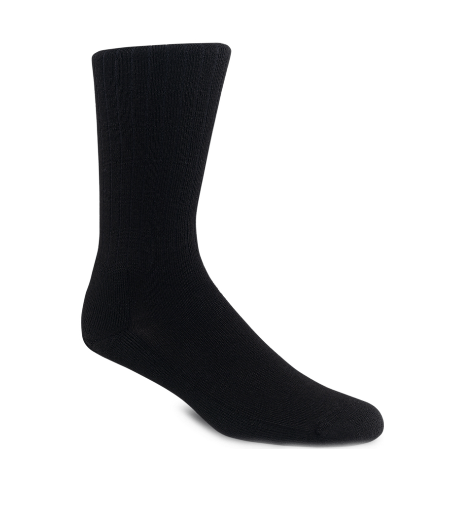 Red Wing Black Classic Rib Sock