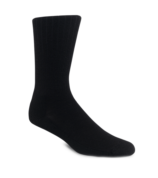 Red Wing Black Classic Rib Sock - Accessories: Socks - Iron and Resin
