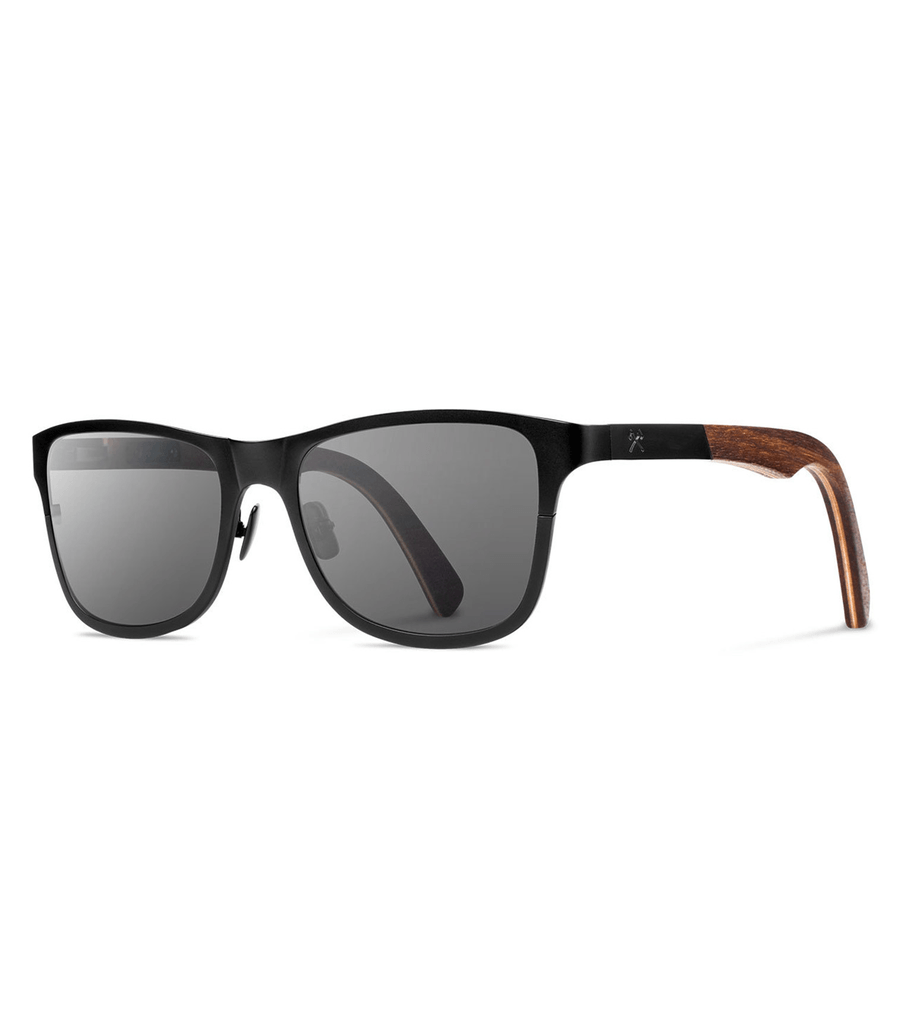 Shwood Canby- Black Titanium - Accessories: Eyewear - Iron and Resin