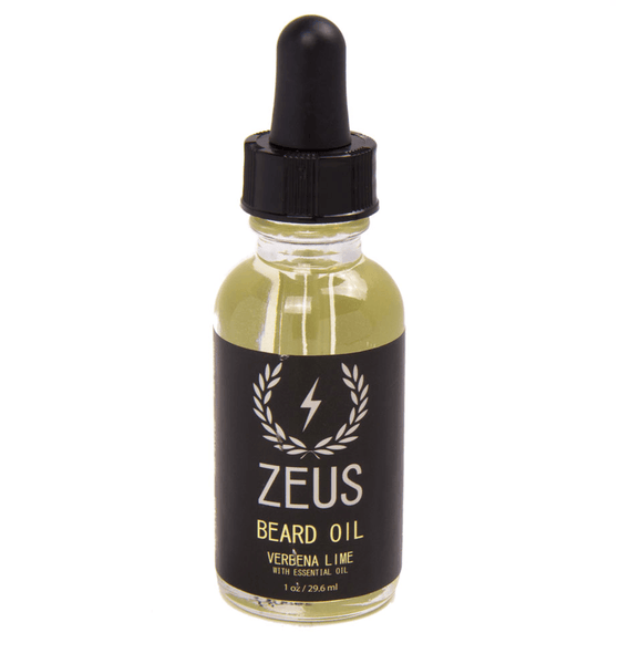 Zeus Beard Oil, Verbana Lime 1oz