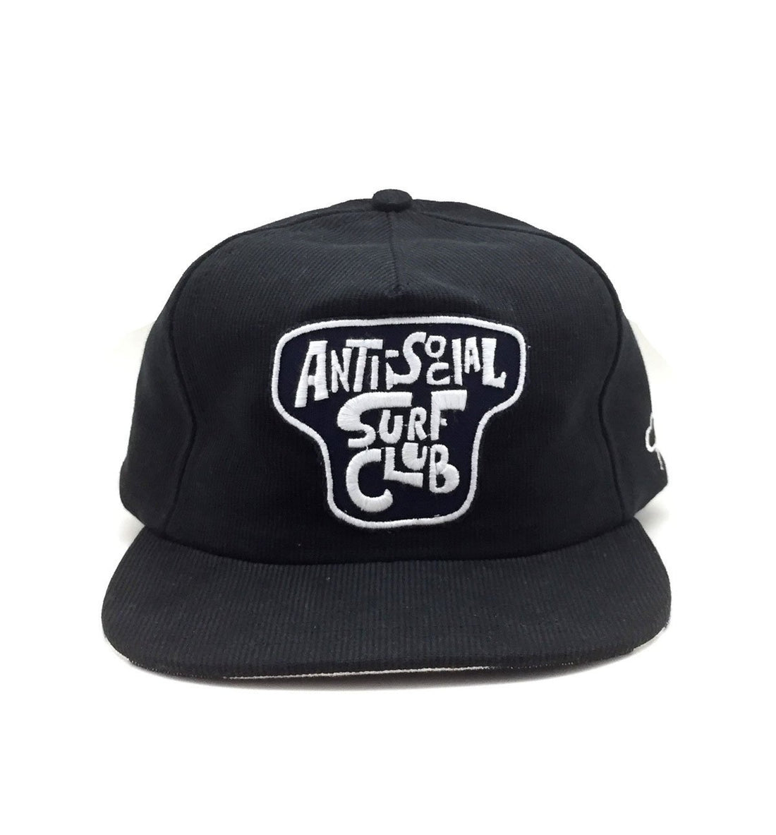 The Ampal Creative Anti Social SurfClub Snapback - Black - Headwear - Iron and Resin