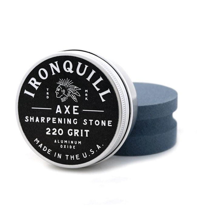 Ironquill Axe Sharpening Stone - Accessories: Knives - Iron and Resin
