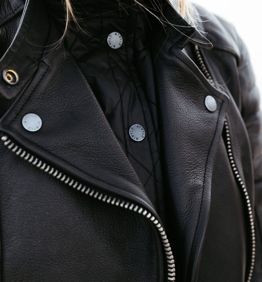 Atwyld Alltime 2.0 Moto Jacket - Outerwear - Iron and Resin