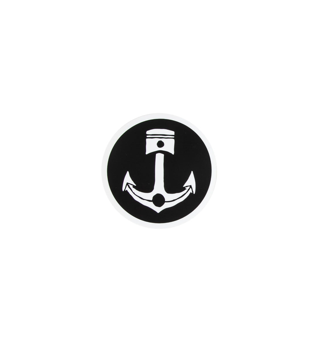 Anchor Piston Sticker - Stickers/Pins/Patches - Iron and Resin
