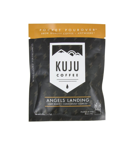 Kuju Coffee Pocket Pourover, Angels Landing - Kitchen/Bar - Iron and Resin