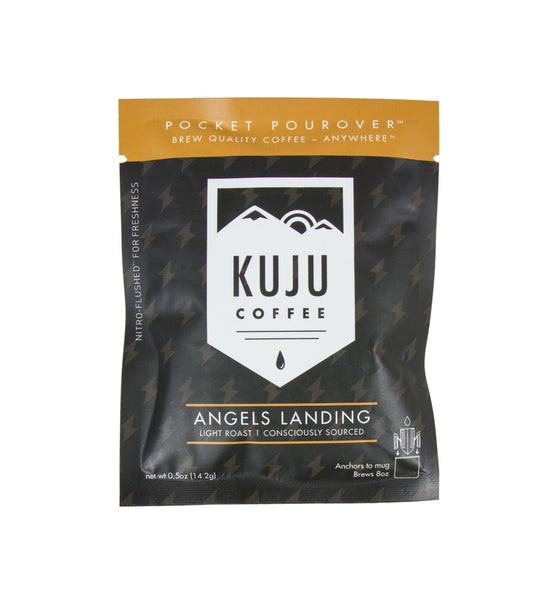Kuju Coffee Pocket Pourover, Angels Landing