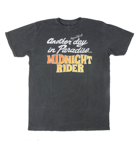Midnight Rider - Another Day In Paradise Tee - Tops - Iron and Resin