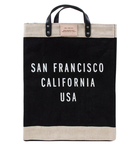 Apolis x INR: Market Bag SF - Accessories: Bags - Iron and Resin
