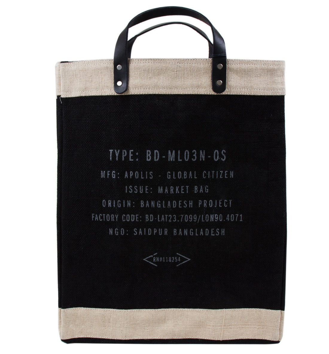 Apolis x INR: Market Bag SF - Bags/Luggage - Iron and Resin