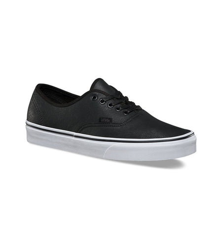 Vans Authentic Premium Leather - Shoes: Men's - Iron and Resin