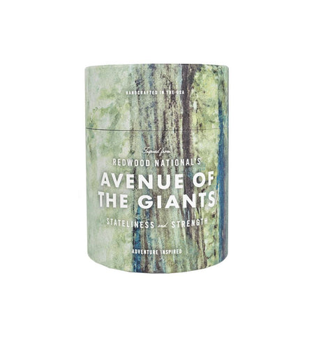 National Park Candle - Avenue of The Giants - Home Essentials - Iron and Resin