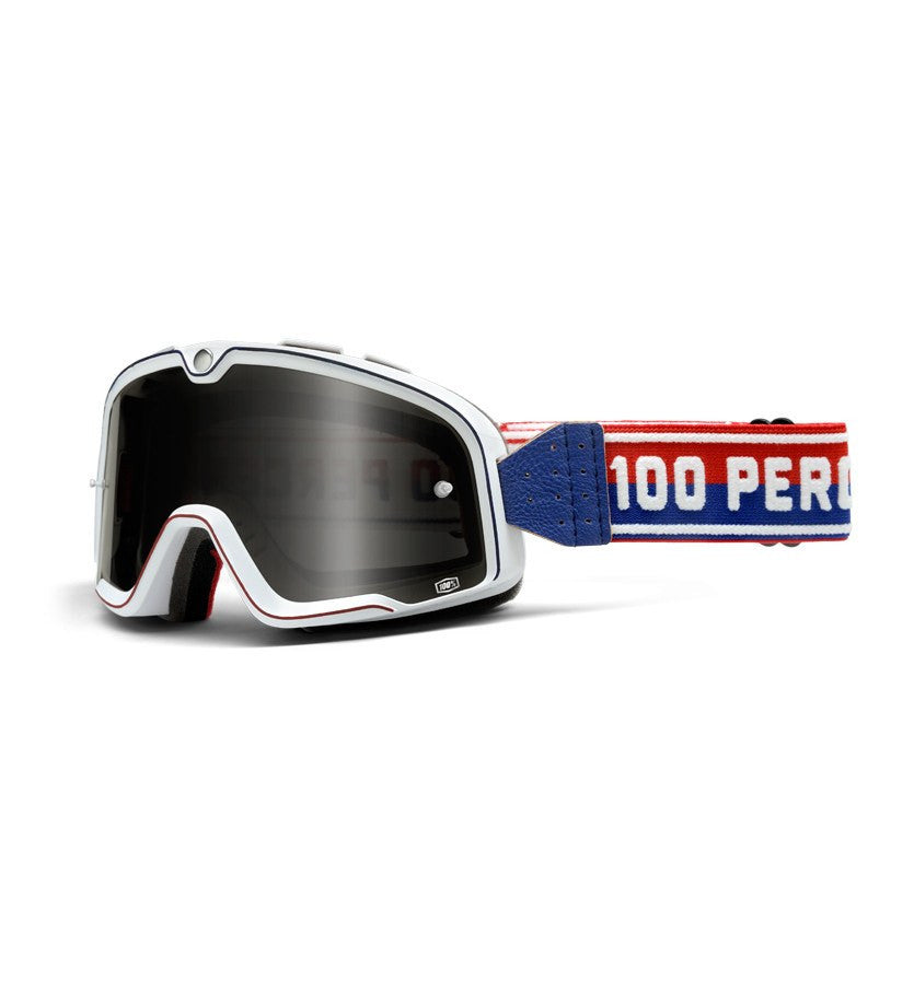 100% Barstow Legend Goggles - Riding - Iron and Resin