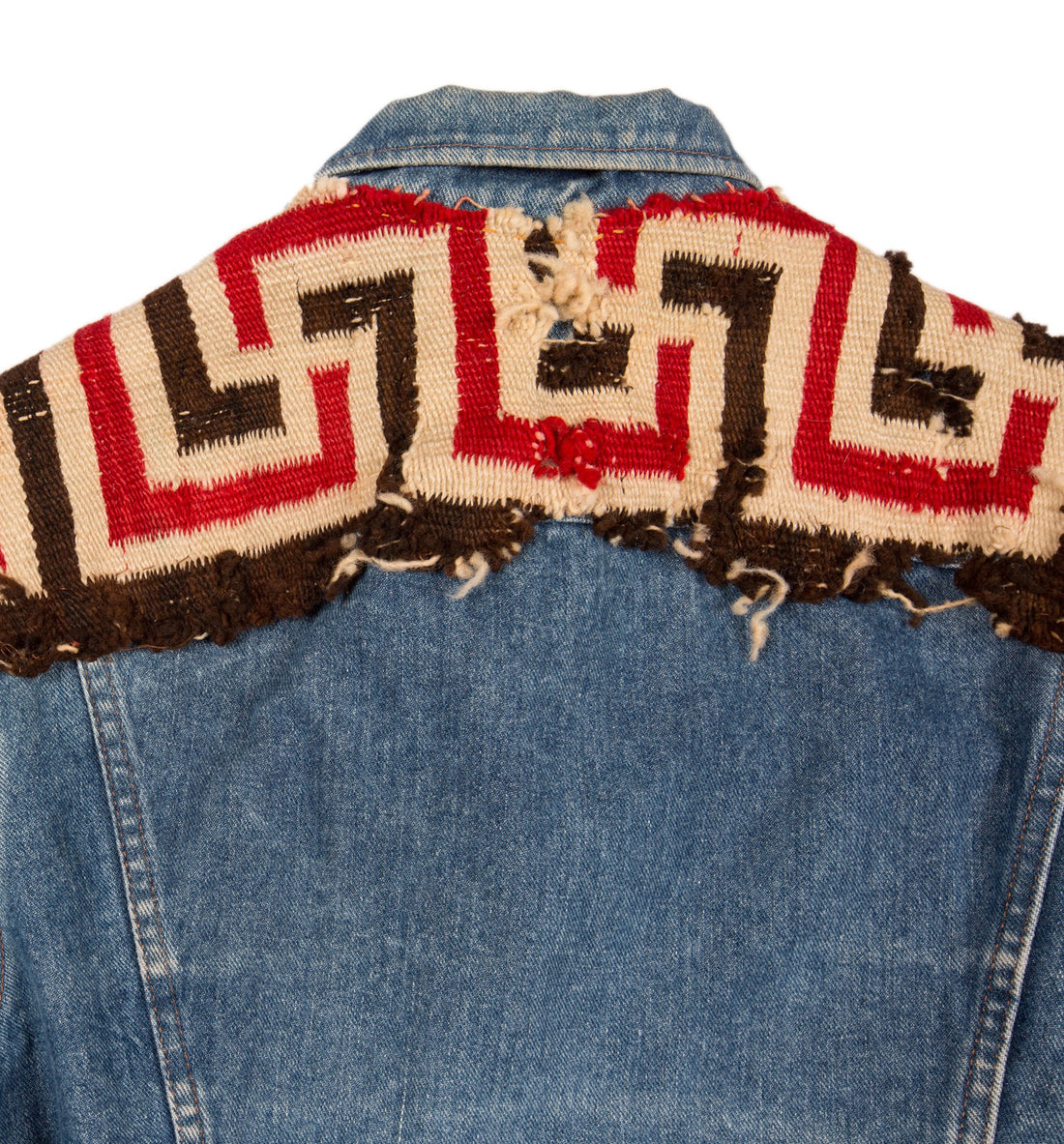 Vintage Navajo Lee Denim Jacket - Vintage - Iron and Resin