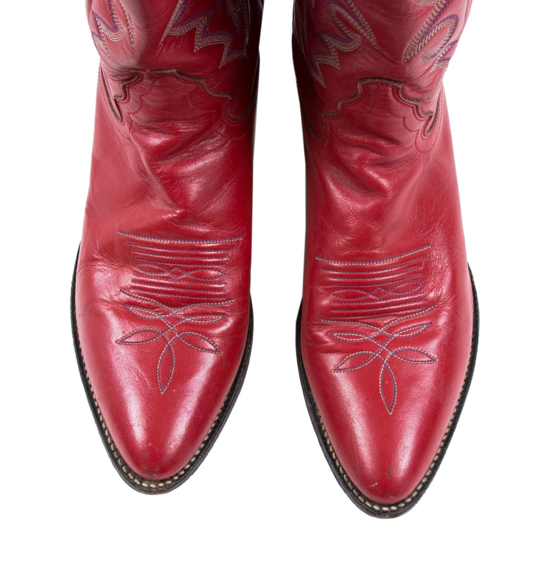 Vintage Justin Cowboy Boots - Vintage - Iron and Resin